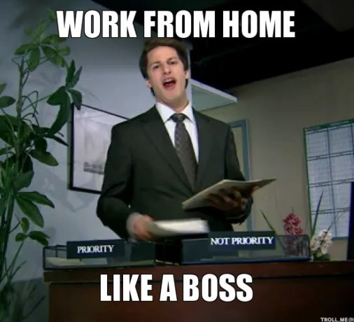 Should You Really Work From Home Funny Birthday Pictures Birthday Wishes For Boss Funny Happy Birthday Pictures