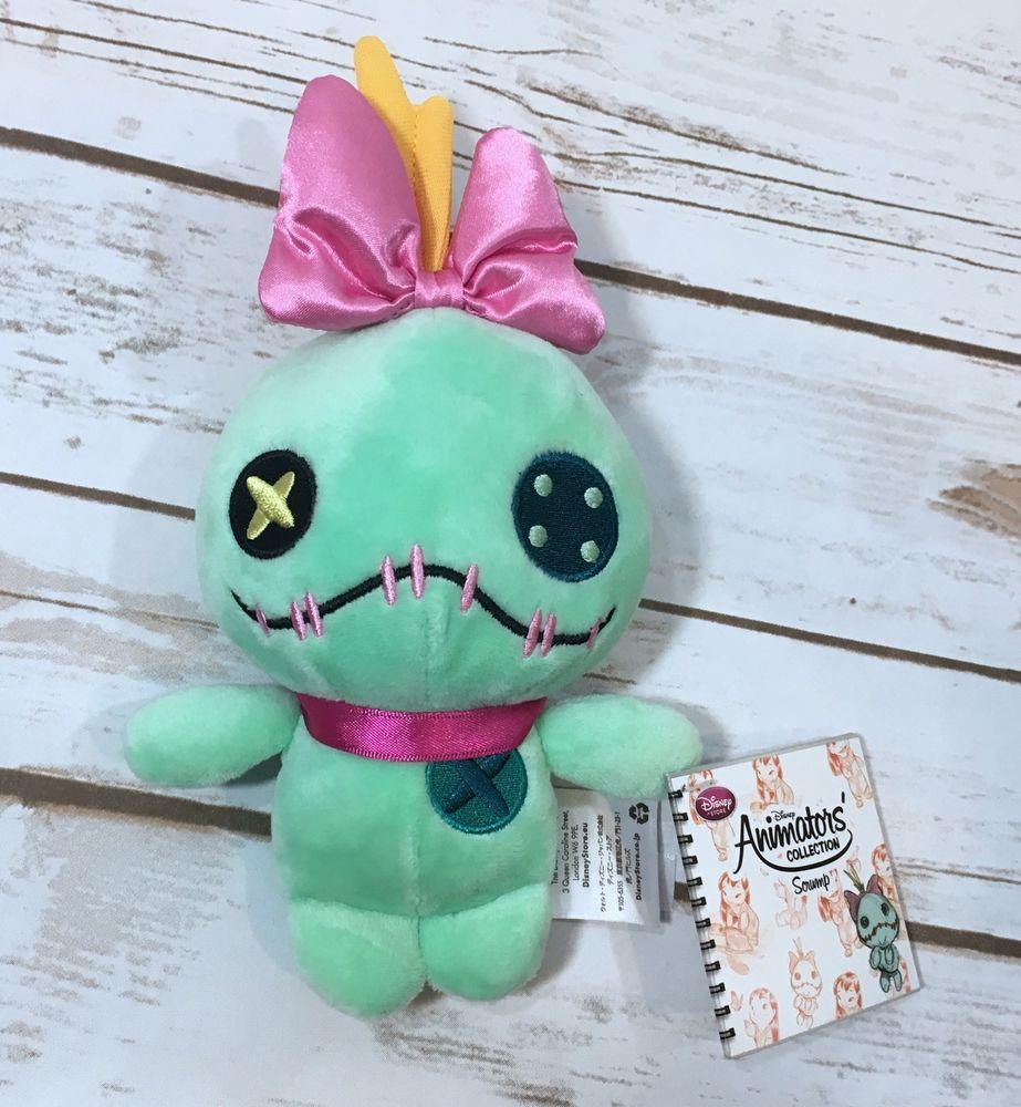 disney store parks mickey minnie mouse   plush stuffed animal  - nwt disney store lilo  stitch plush animators collection scrump stuffedanimal  ebay