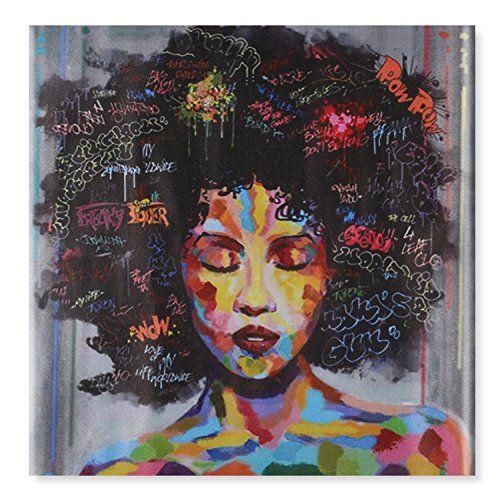 Raybre Art® 60 x 60cm Impresión sobre Lienzo sin marco - Mujeres ...