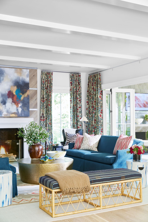 These 50 Designer Living Rooms Are Absolute Goals | Transitional ...