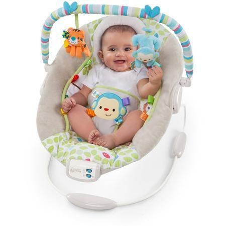 Comfort & Harmony Cradling Bouncer in Merry Monkeys