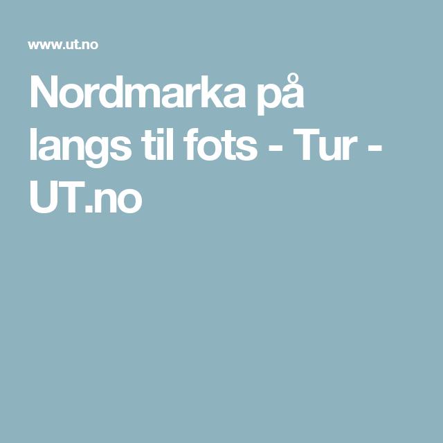 Nordmarka på langs til fots - Tur - UT.no