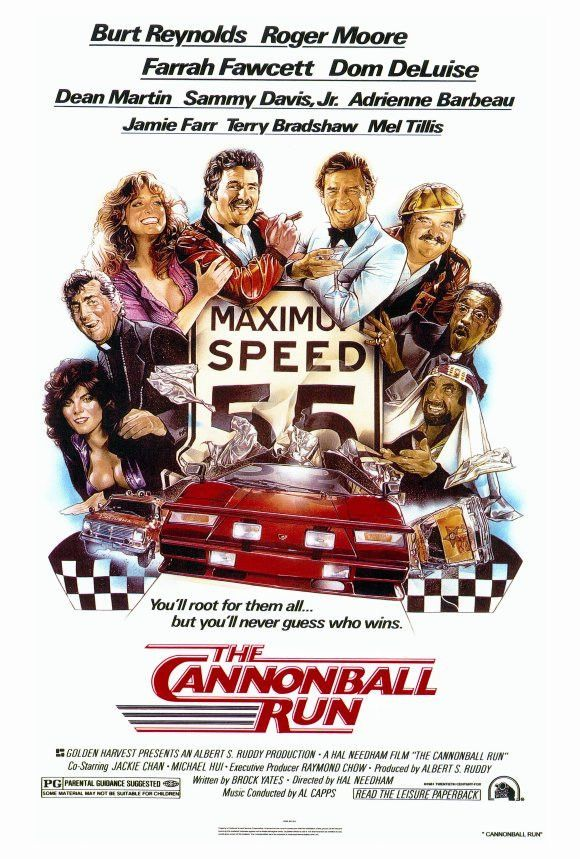 Cannonball Run 27x40 Movie Poster (1981)