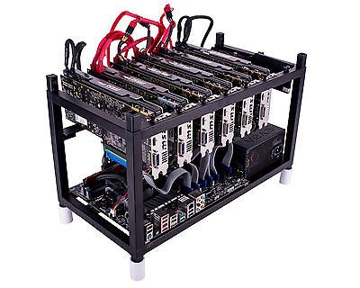Details about ETHEREUM Mining Rg 1700 H/S 6 X AMD RX580 8GB