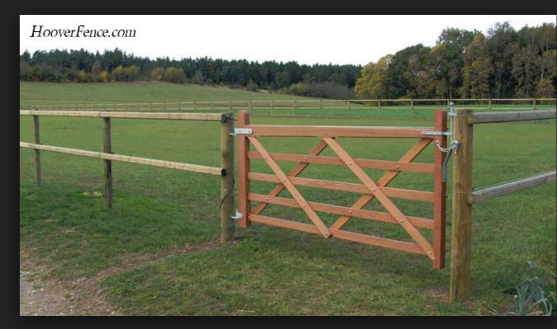Horse Fence Gate Farm Fence Building A Fence Fence Gate