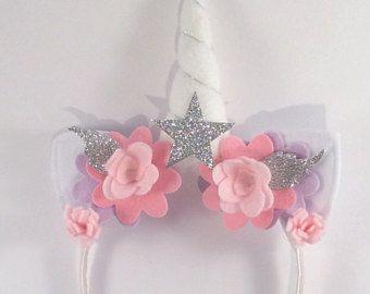 Unicorn headband mystia unicornio accesorios para el for Decoraciones para el pelo