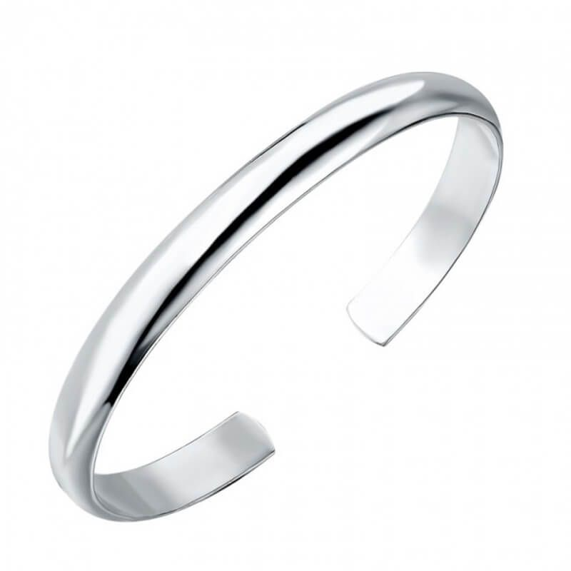 1d54ff00e Direct from our Jewellery manufacturers in England Solid Platinum 6mm open  cuff D shape Bangle weighing 33 grams approx weight based on largest size  ...