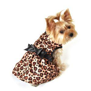 Simplydog Party Dog Dress Leopard Print For Kalua Walmart
