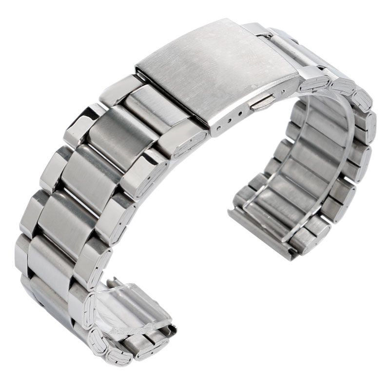 2017 new arrival 2022mm silver fashion stainless steel