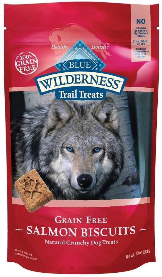 Blue Buffalo Wilderness Trail Grain Free Salmon Dog Treats Dog