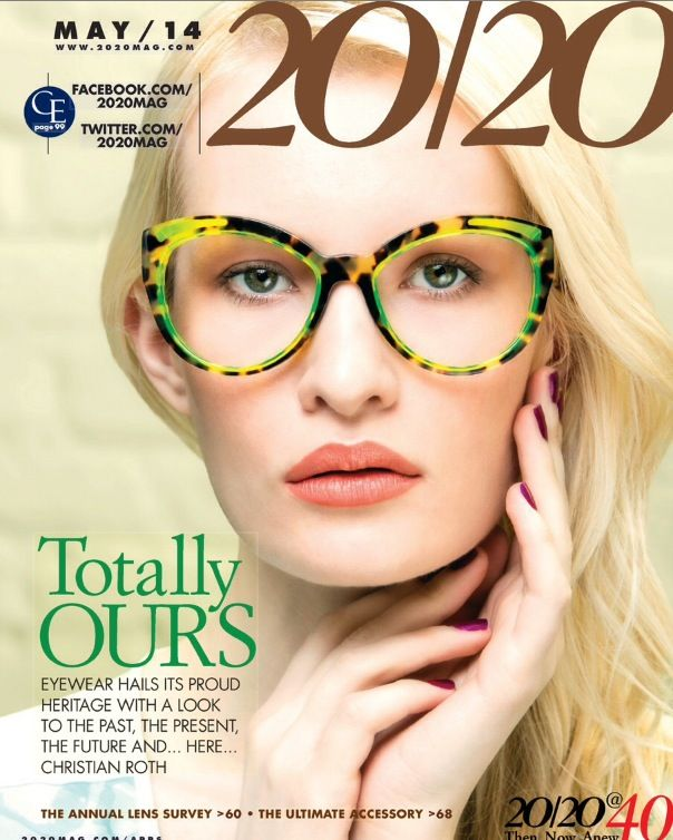 Thank you 20/20 Magazine for the amazing Onward Christian… No one… let's  repeat that… NO ONE personifies Our Eyewear in creativity, ...