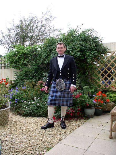 I like a man in a kilt