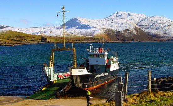 Ardnamurchan ferry