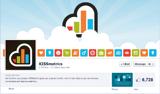 Social media profile examples