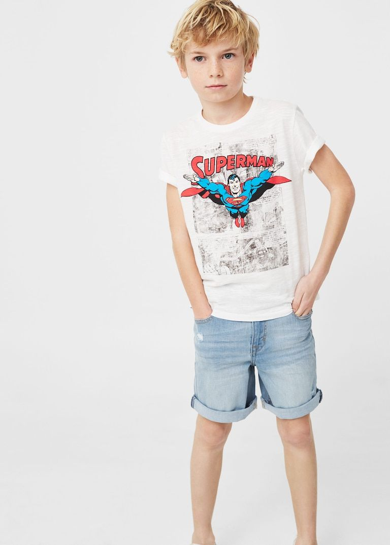 Camiseta algodón superman - Niño - Mango Kids España i ...