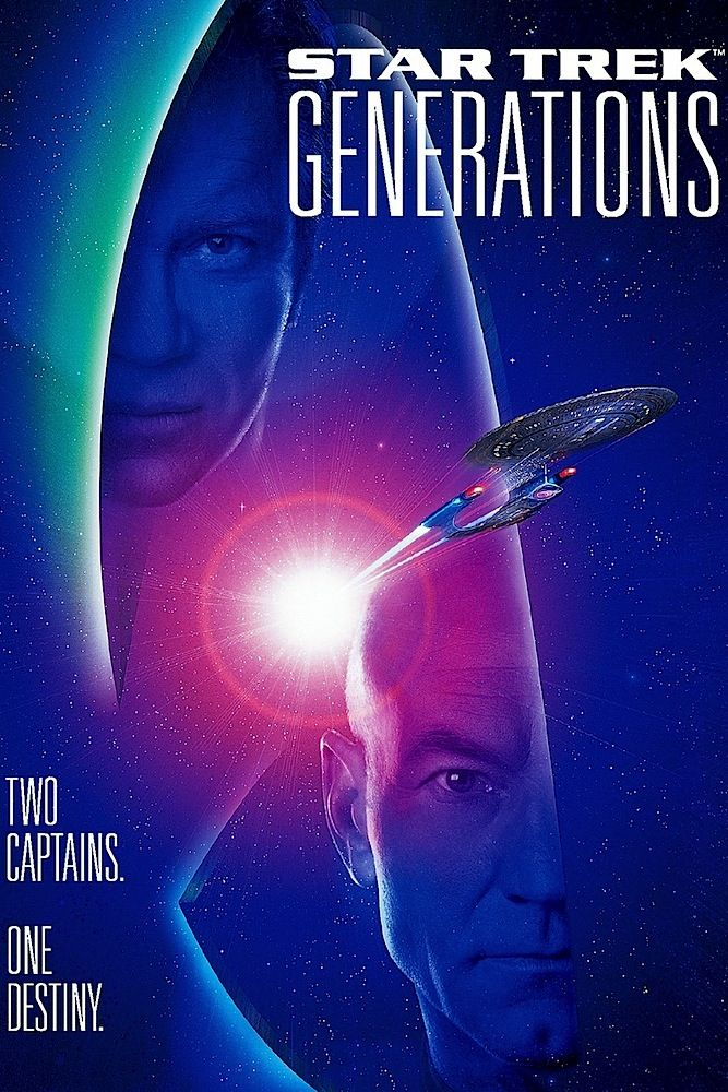 Image result for star trek generations movie poster