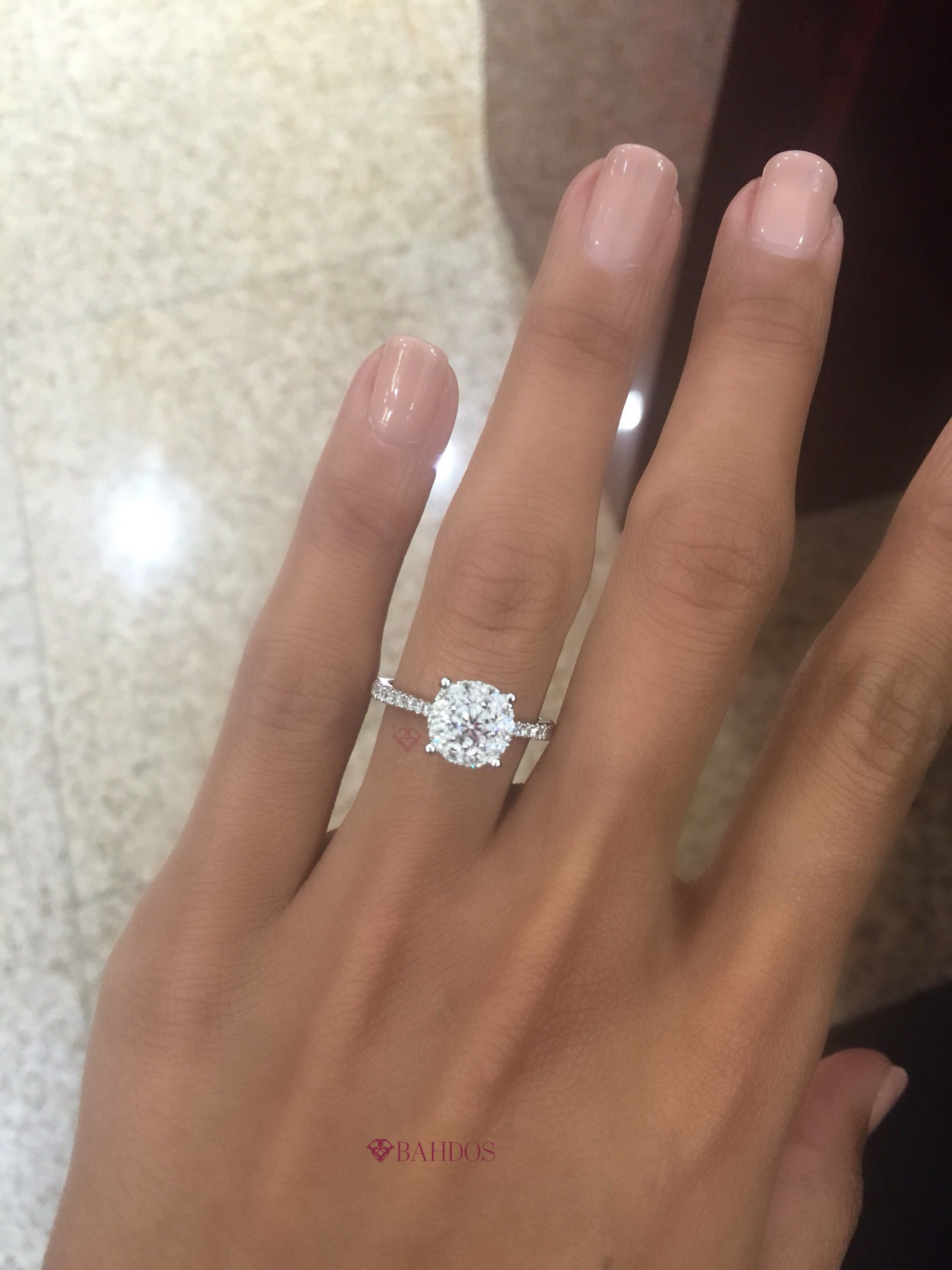It S Weddingringwednesday We Can T Take Our Eyes Off This Stunner Keep It Simple Keep It C Stunning Engagement Ring Wedding Ring Sets Wedding Rings Simple
