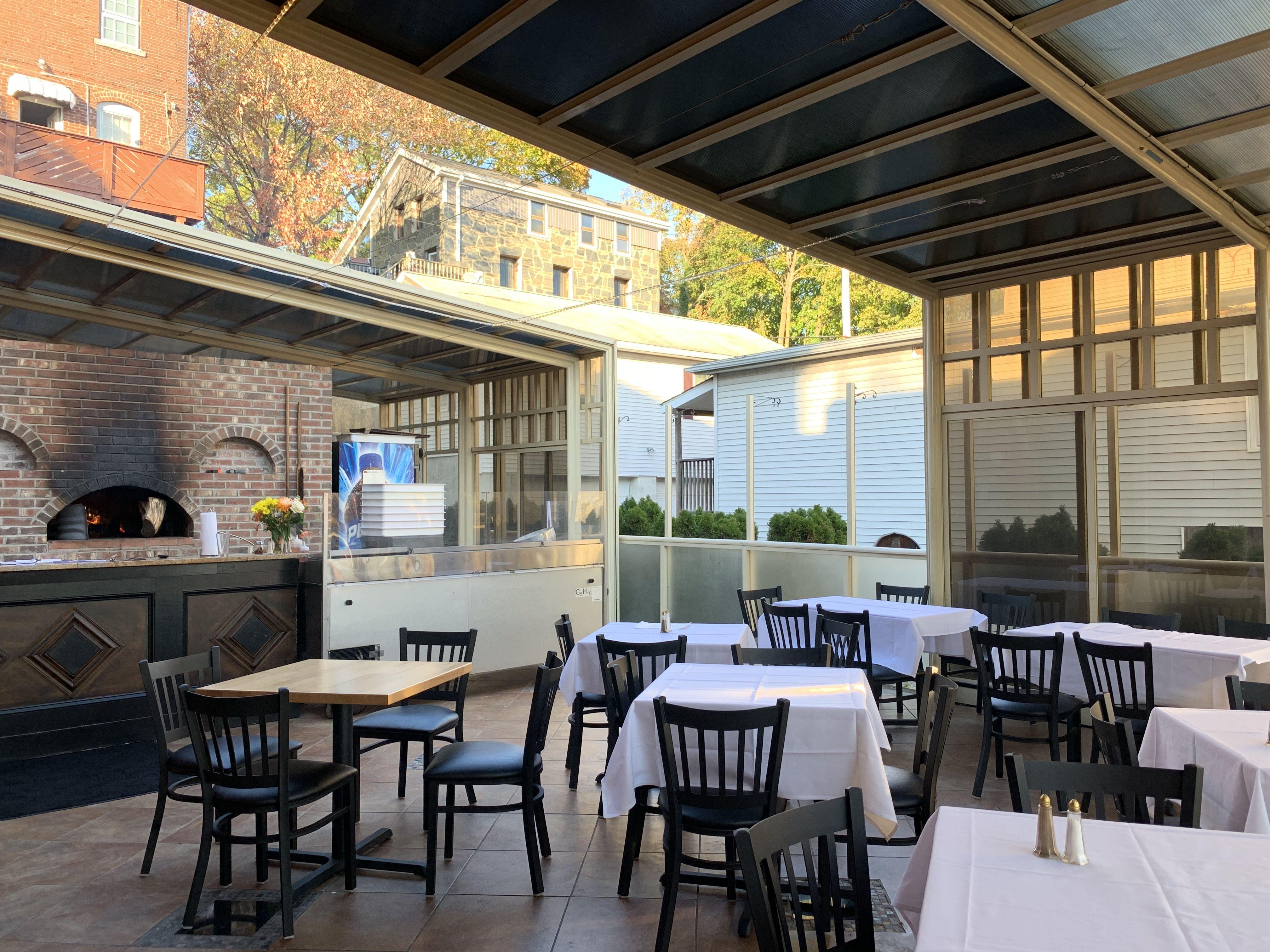 restaurant patio enclosure system