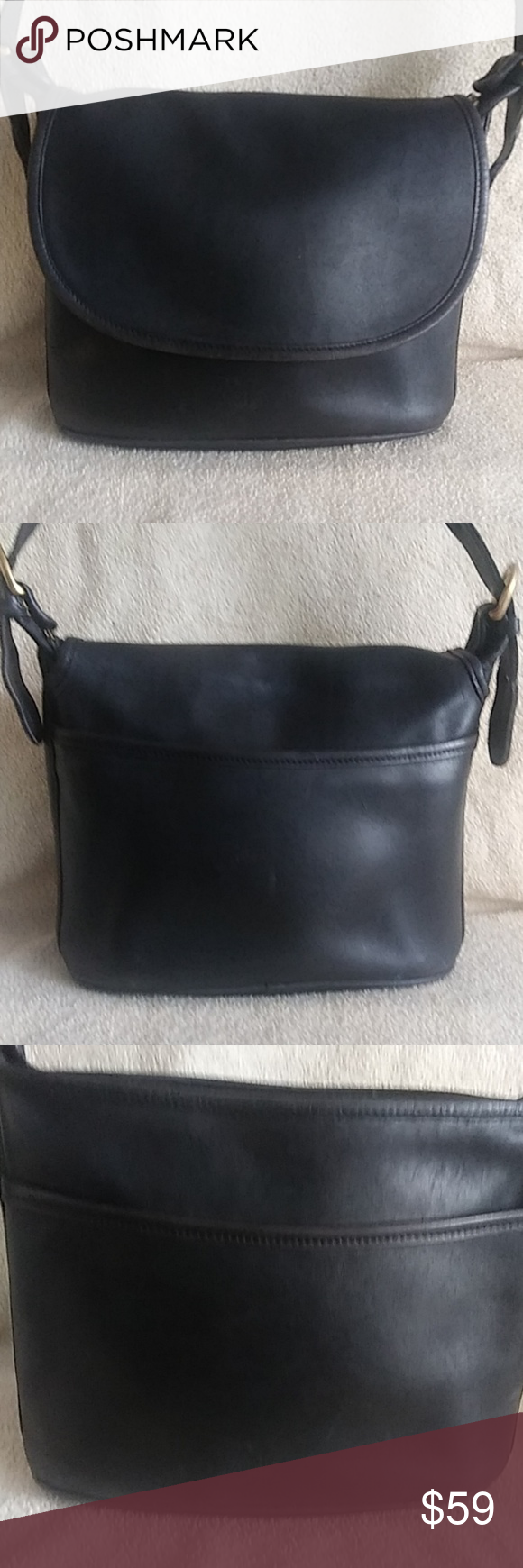 COACH vintage bag Great leather vintage coach bag use in great condition  made in UNITED STATES OF AMERICA please see the pictures for description. a3c1a5ca4a
