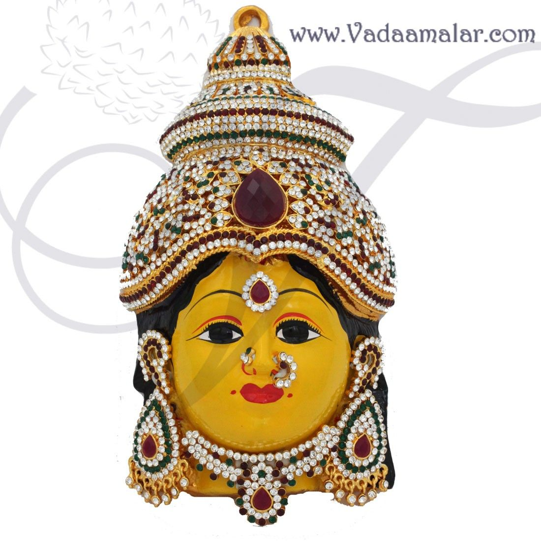 How To Decorate A Mask Extraordinary Thugil Online Store Goddess Lakshmi Mask Vara Laksmi Face With Inspiration Design