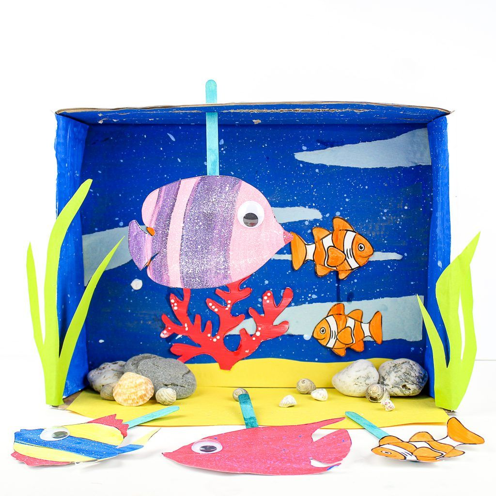 Printable Paper Jellyfish Craft For Kids