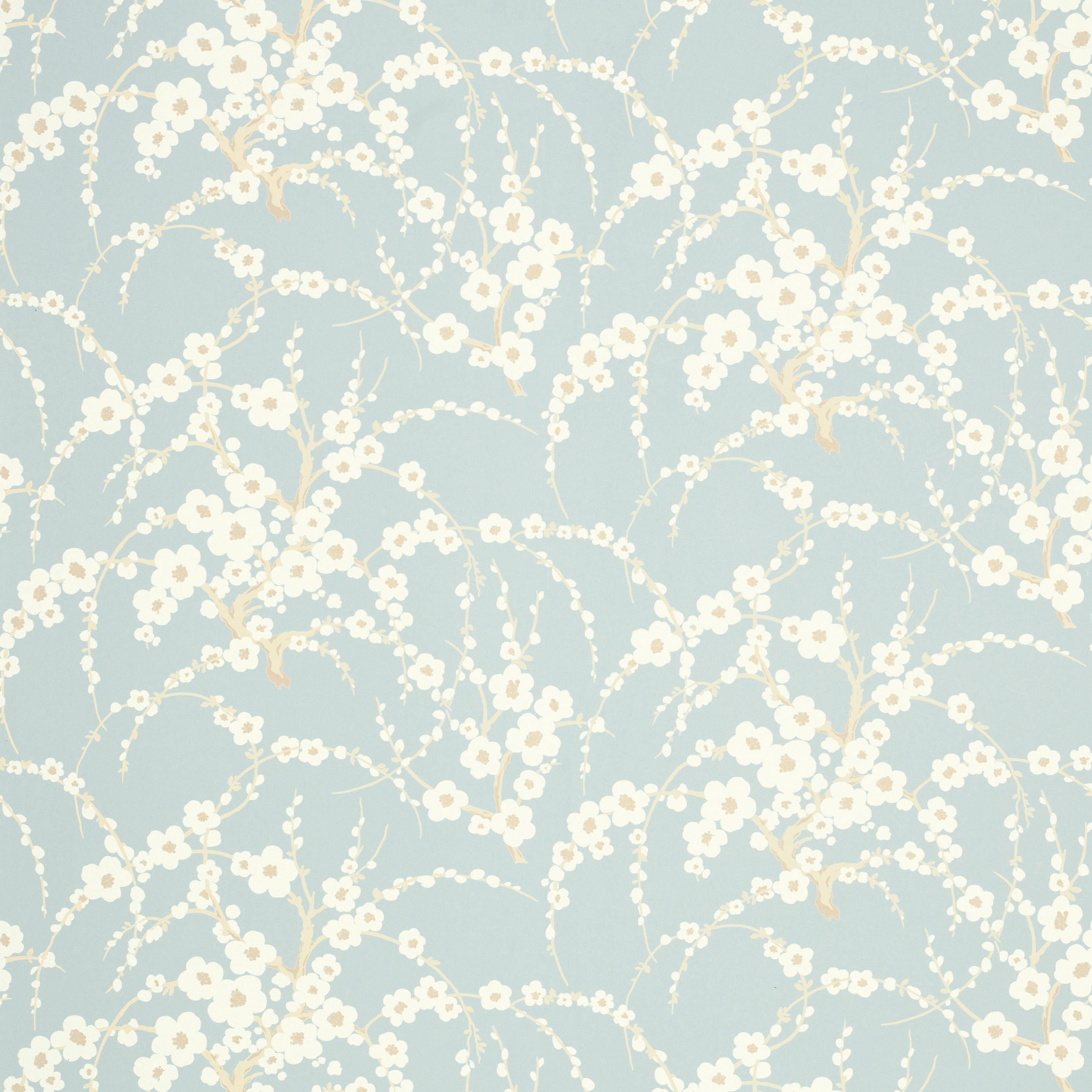 Laura ashley lori duck egg floral wallpaper duvar