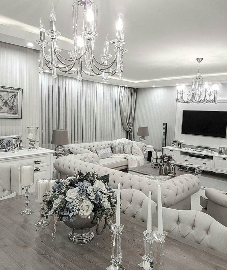 This Room Is Harmony Because Of The White I Love How This Room Is