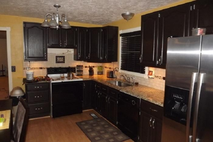 Black Cabinet Kitchen  Cheap Kitchen Remodel Cheap Black Kitchen New Cheap Kitchen Remodel Decorating Design