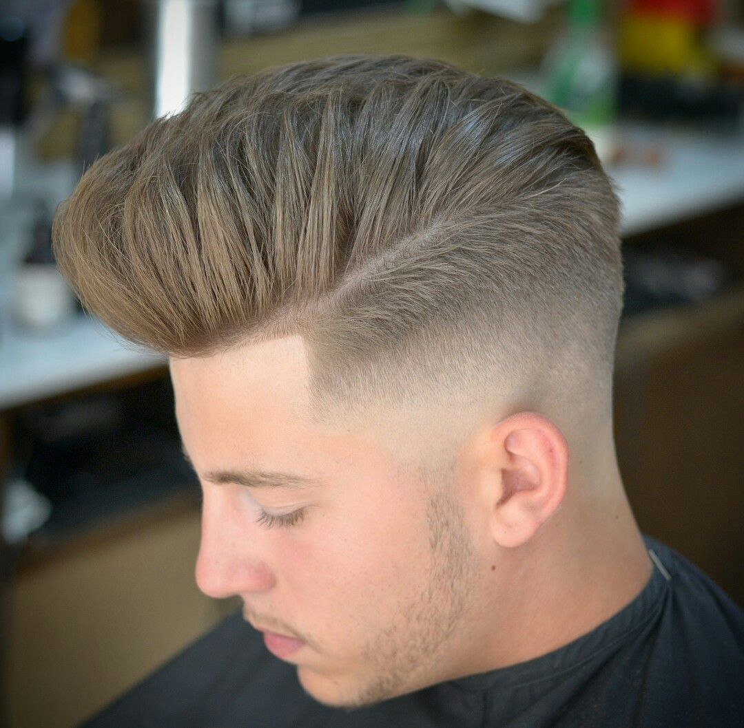 Mens fade haircut styles thebarber  men hairstyle  pinterest  men hairstyles mens hair