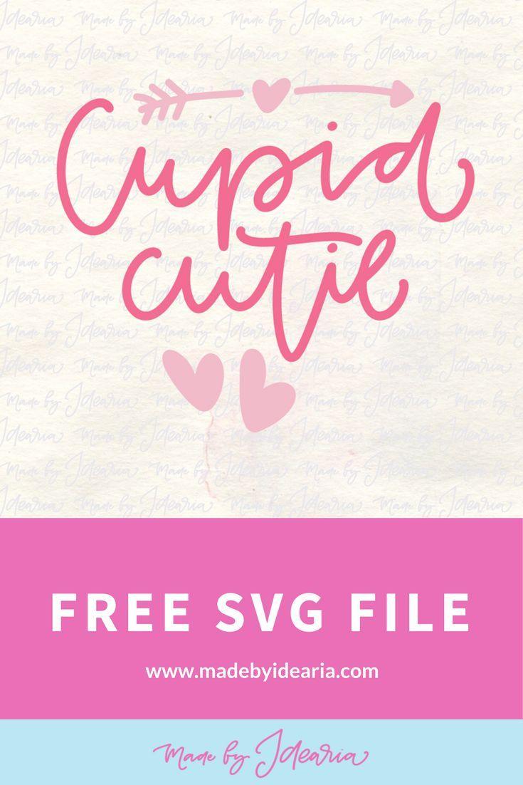 Download FREE SVG FILE: Cupid cutie svg | Free svg, Svg free files, Svg