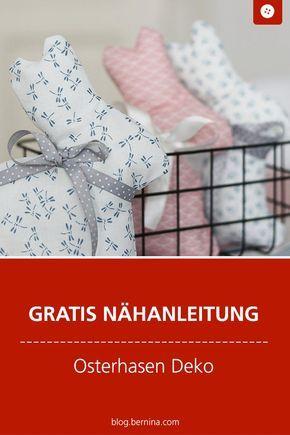 Photo of Schlichte Osterhasen als Deko nähen » BERNINA Blog