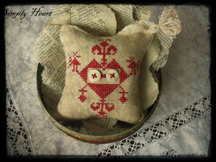 Nikyscreations: SIMPLY CORAZÓN regalo de promoción! | Cross Stitch ...