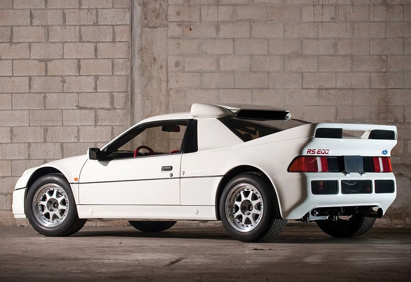 The 1984 86 Ford Rs200 95 Customs In 2020 Ford Rs Car Ford
