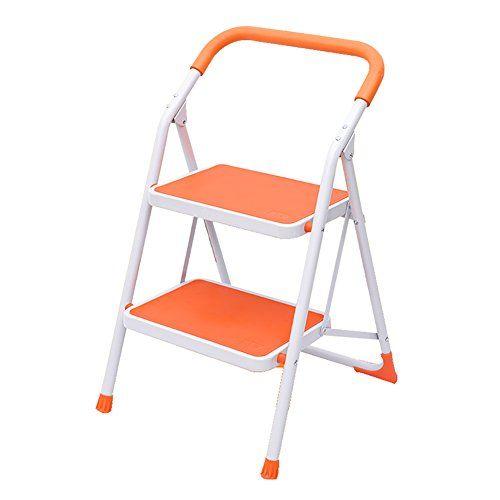 Magnificent Lxf Step Stool Home Multi Function Folding 2 Step Ladder Inzonedesignstudio Interior Chair Design Inzonedesignstudiocom
