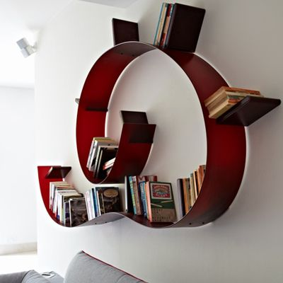 Kartell Bookworm Medium 11 Bookends | Bookcases | Accessories ...