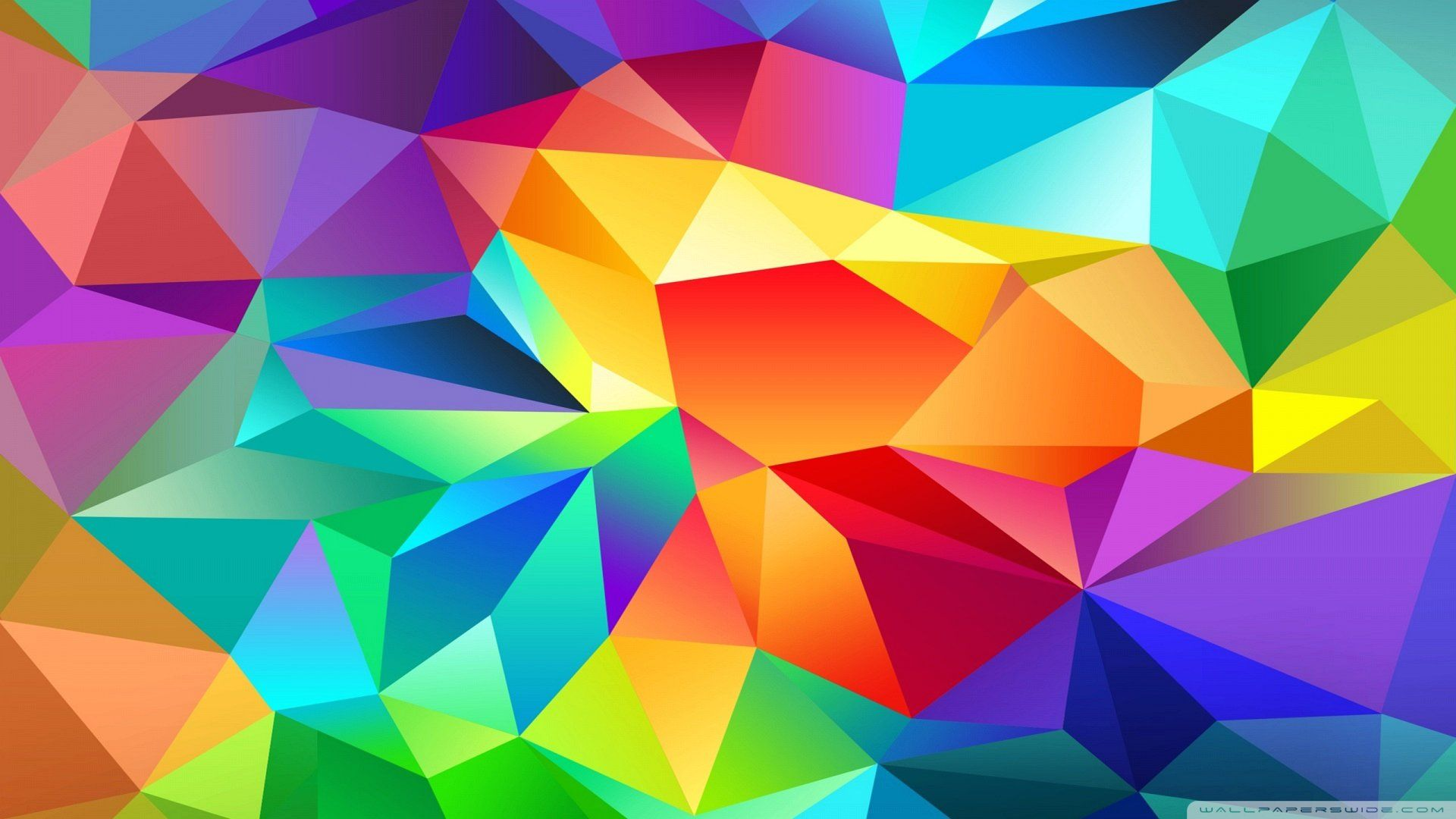 abstract polygonal colorful background - photo #21