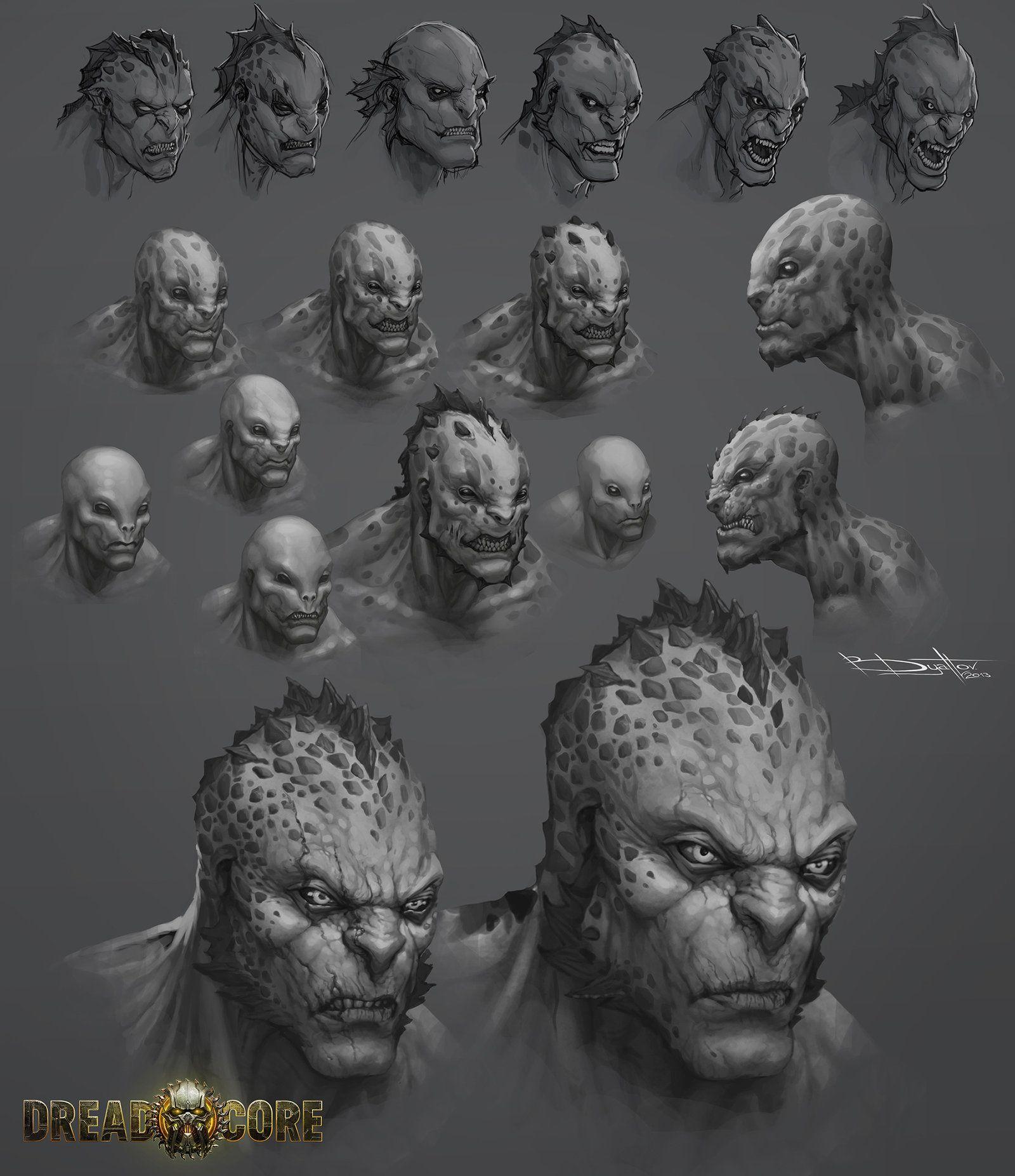 Hogga head by Boris-Dyatlov.deviantart.com on @deviantART