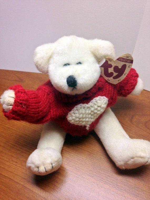 4c45eedde2d Baby Beanies. Sweatshirt. Sewing Toys. Bear. Stuffed Animals. Loft. Lofts.  Ty Attic Treasure Collection- Nicholas- Retired  1993  StuffandPlushies   Etsy   ...
