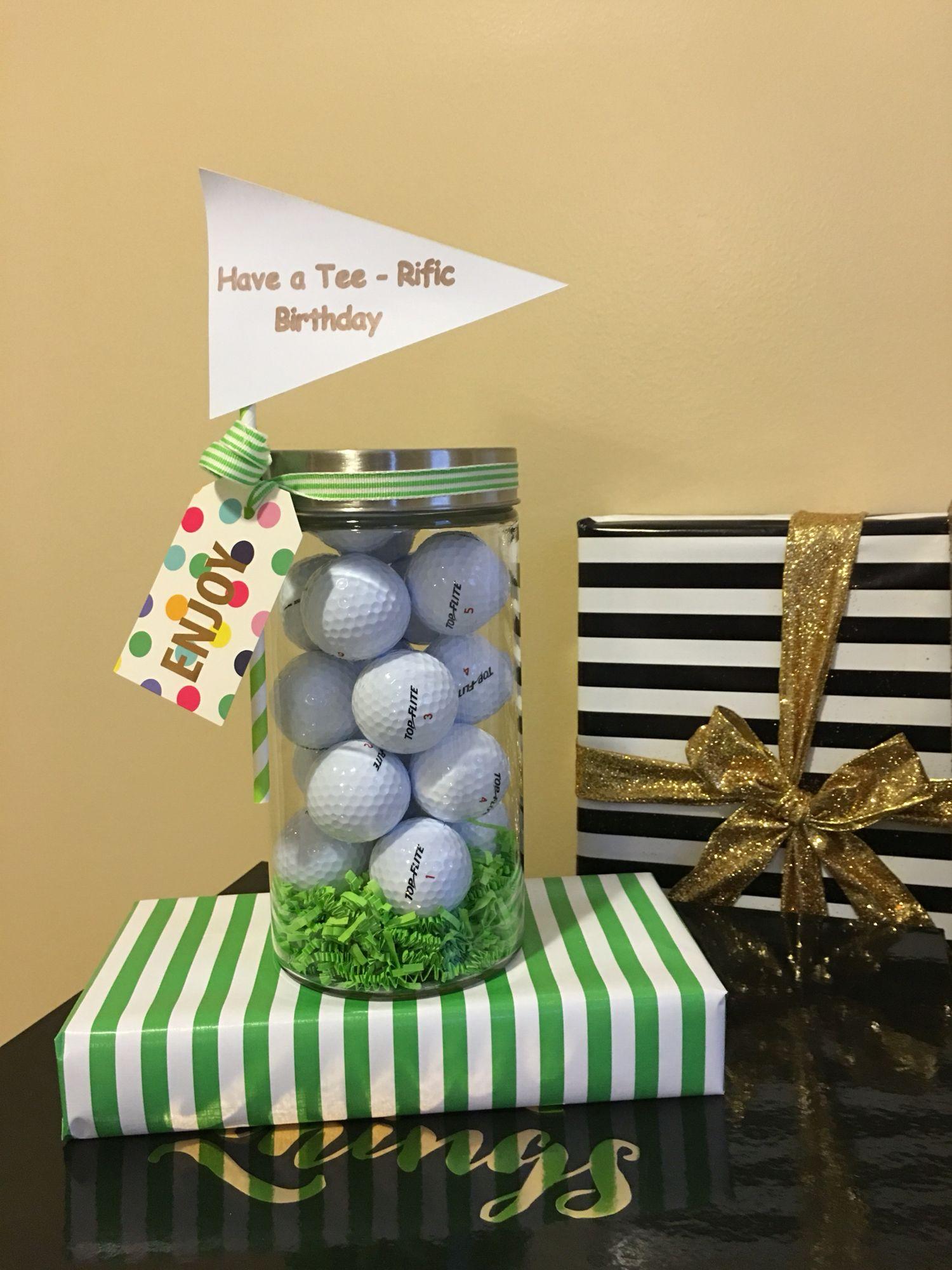 Birthday gift for a golfer cricut pinterest bags