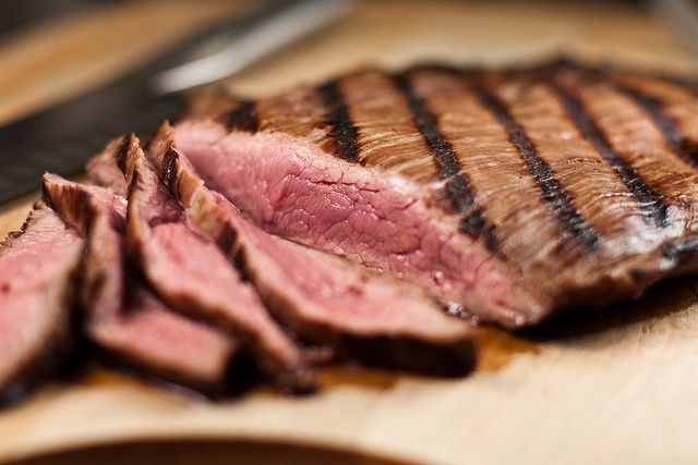 Sliced Flank by Another Pint Please..., via Flickr