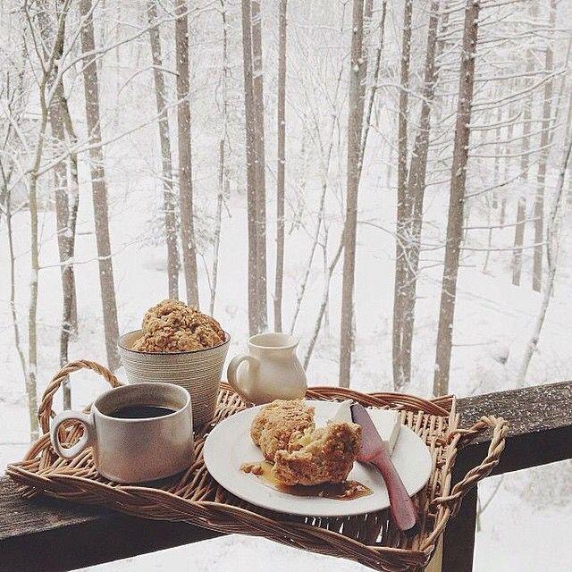 Зима утро картинки кофе, для тумблер