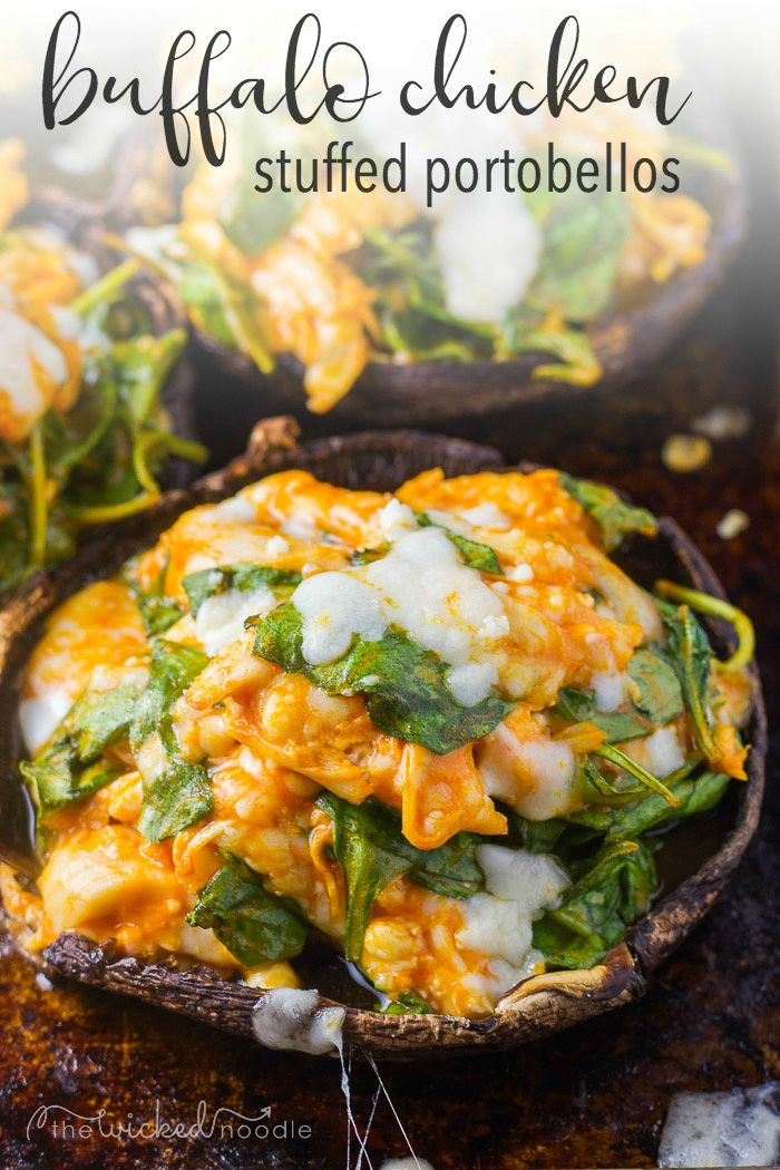 looking a delicious easy recipe for stuffed portobello mushrooms these healthy caps are
