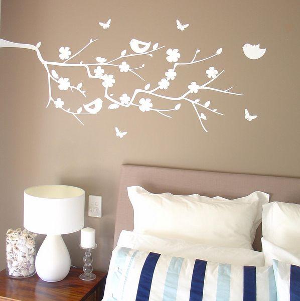 Cherry blossom for the home pinterest cherry for Cherry blossom bedroom ideas