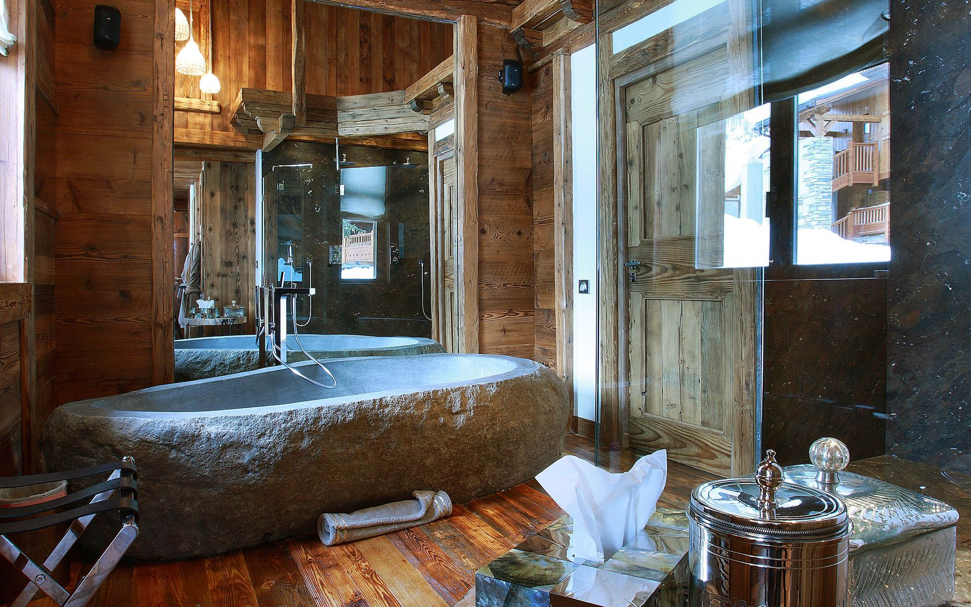 Luxury Ski Chalet, Chalet Marco Polo, Val d\'Isère, France, France ...