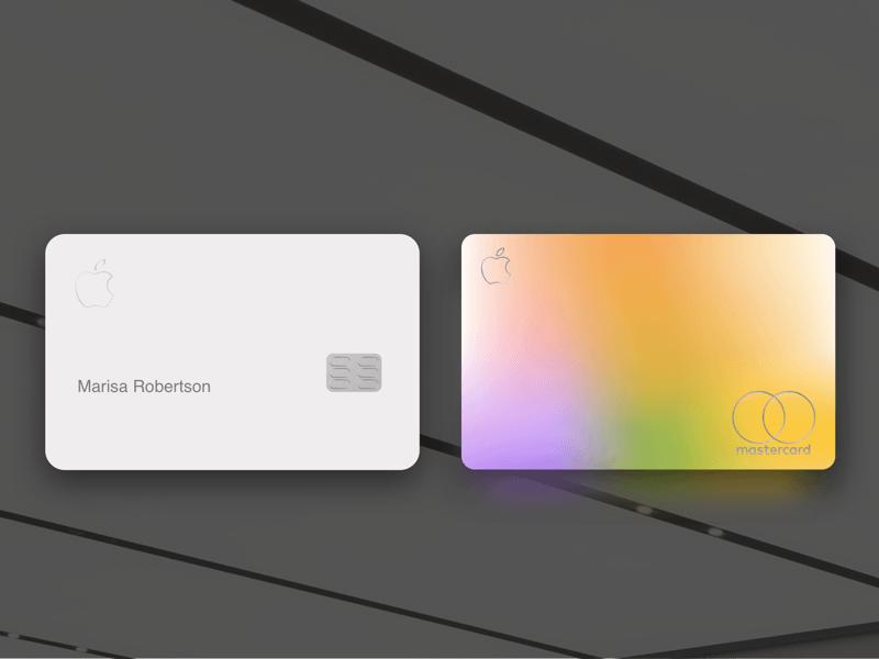 Apple Credit Card Template Sketch freebie Download free