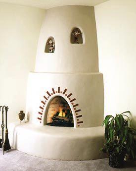 Santa Fe Kiva Fireplace Adobe Fireplace Fireplace Kits Fireplace Remodel