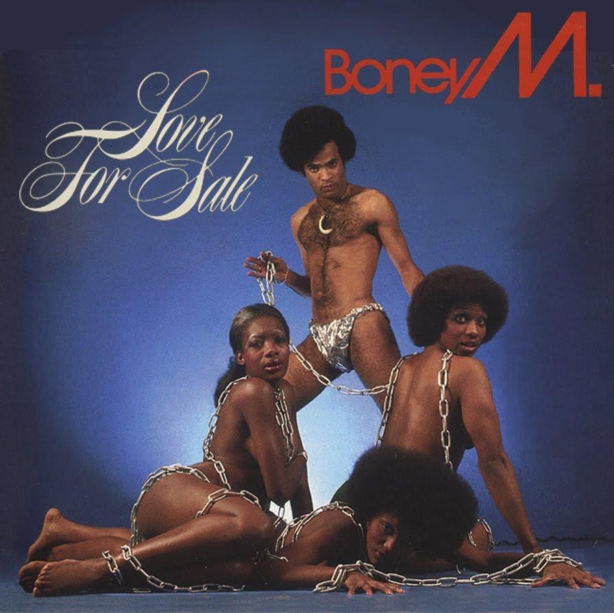 1977 Lp Love For Sale Alternativ Cover Boney M Music Album Covers Classic Album Covers
