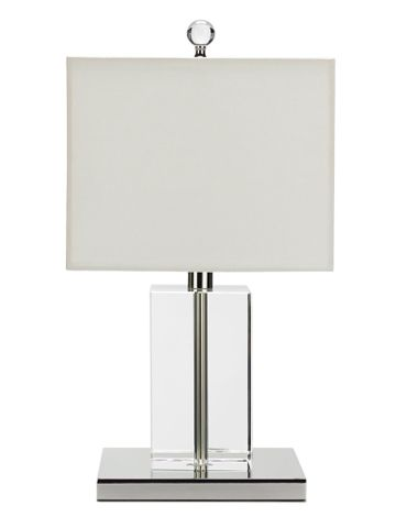 Merveilleux Ralph Lauren Lucite Series Low Table Lamp