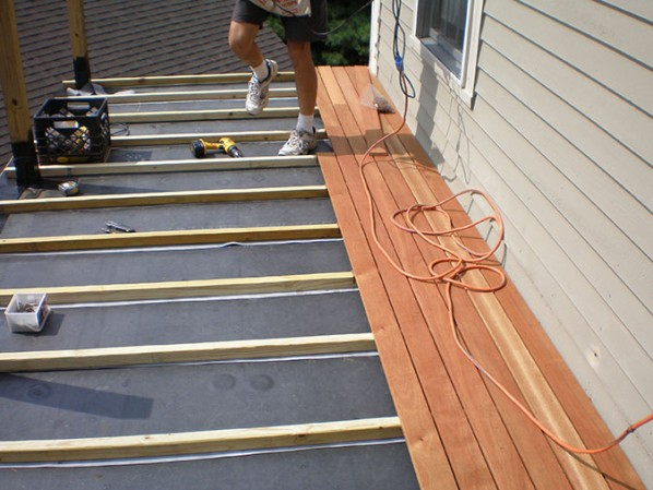 Outer Banks Waterproof Deck 1 800 653 9306 Gallop Roofing In 2020 Deck Design Deck Over Concrete Deck Framing