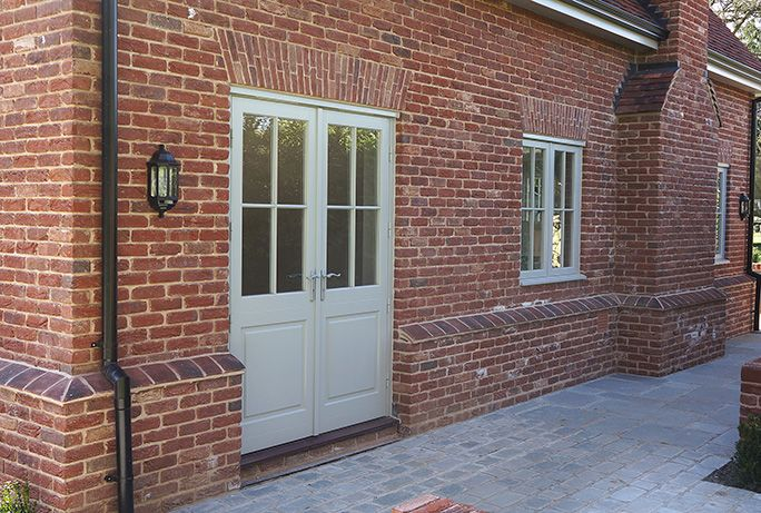 Timber French Doors by Mumford & Wood | 1930s house renovation ...